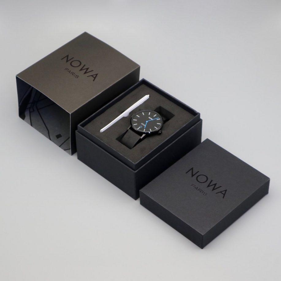 NOWA_Smartwatch_Packaging_Box_Black